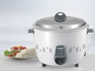Borosil Pronto BRC18MPC21 1.8 Litre Electric Rice Cooker