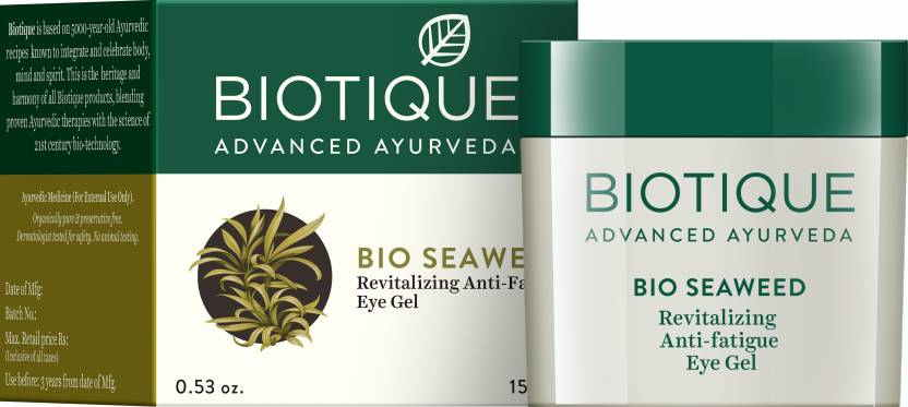 Biotique Bio Seaweed Revitalizing Anti Fatigue Eye Gel 15 GM