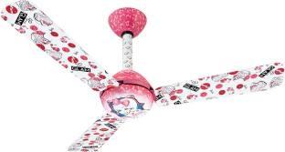 Usha Kids Glam Barbie 1200 mm Ceiling Fan (Multicolor)