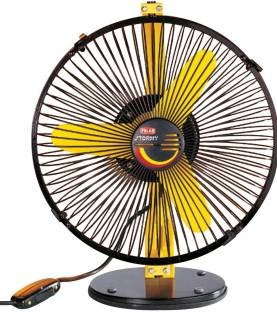 Polar Stormy 230 mm Personal Cabin Fan (Yellow)