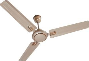 Surya Udan Plus 1200 mm Decorative Ceiling Fan (Coper, White)