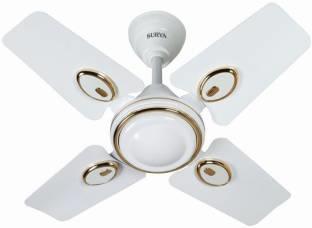 Surya Sparrow Dx 600 mm Ceiling Fan (White)