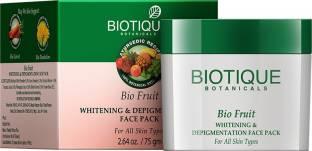 Biotique Bio Fruit Whitening And Depigmentation Face Pack 75gm