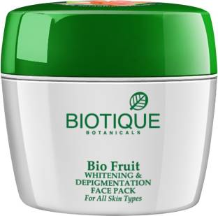 Biotique Bio Fruit Whitening & Depigmentation Face Pack, 235gm