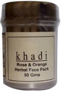 Khadi Rose and Orange Face Pack-50 ml