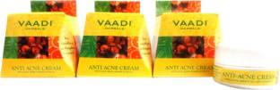 Vaadi Herbals Value Pack Of 3 Anti-Acne Cream Clove and Neem Extract 90 gm