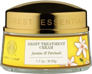 Forest Essentials Jasmine & Patchouli Night Treatment Cream (50gm)