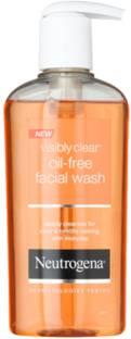 Neutrogena Visibly Clear Oil-Free Facial Wash Face Wash 200ml