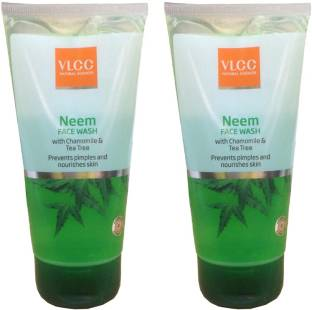 VLCC Neem With Chamomile and Tea Tree Face Wash 300ml Pack Of 2