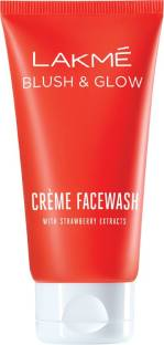 Lakme Strawberry Creme Face Wash 100gm