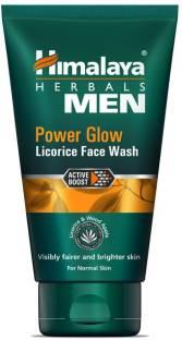 Himalaya Men Power Glow Licorice Face Wash (100ml)