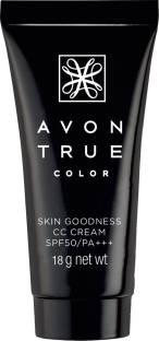 Avon Skin Goodness Cc Cream Foundation For Women Medium Wheat, 18 Gm