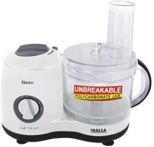 Inalsa Nexa 600W Food Processor