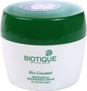 Biotique Bio Coconut Whitening and Brightening Cream 50gm