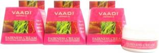 Vaadi Herbals Value Pack Of 3 Fairness Cream Saffron Aloe Vera and Turmeric Extracts