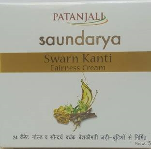 Patanjali Saundarya Swarn Kanti Fairness Cream 50 GM