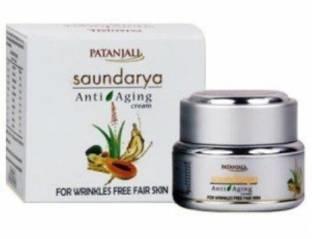Patanjali Saundraya Anti Aging Cream, 15 GM