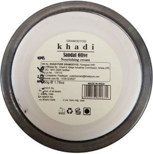 Khadi Sandal and Olive Face Nourishing Cream 50g