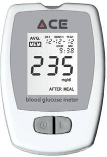 ACE RP Glucometer (10 Strips)