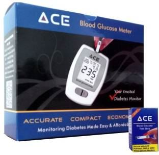 ACE PP01 Glucometer (100 Test Strips)