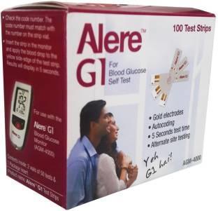 Alere G1 AGM-4000 Glucometer (100 Strips)