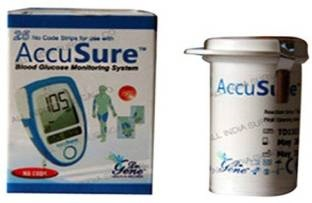 Dr Gene Accusure Glucometer (With 25 Strips)