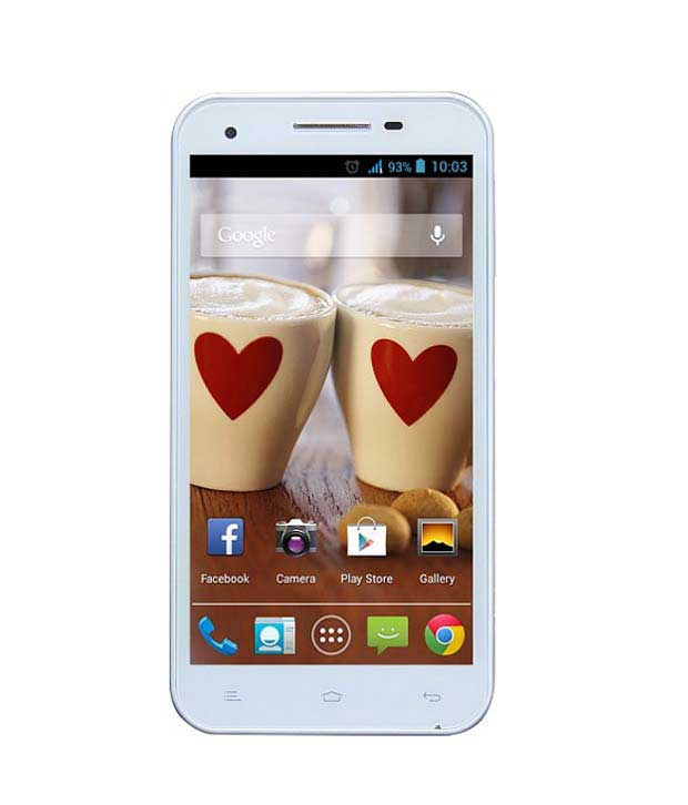 Gionee Gpad G3 4GB White Mobile