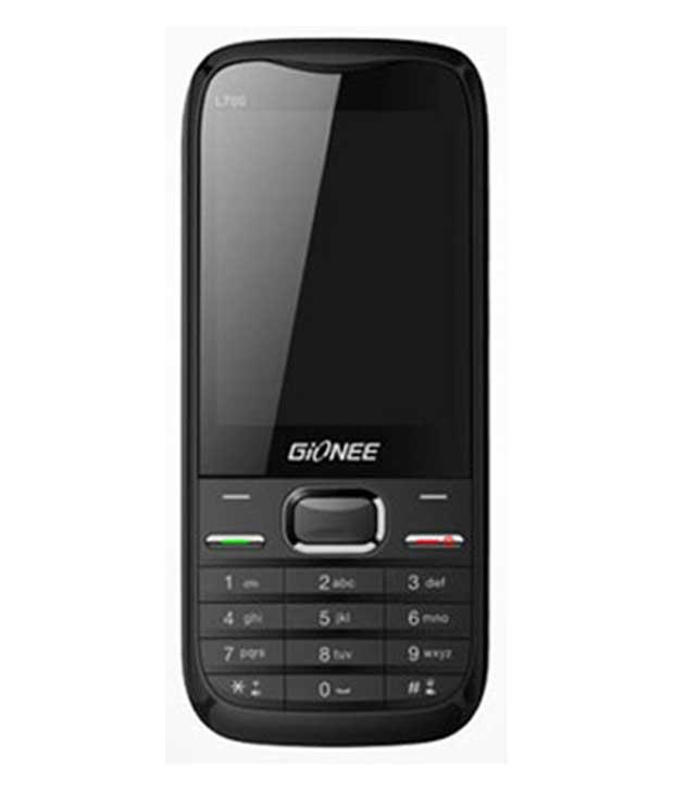 Gionee Long L700 Black Mobile