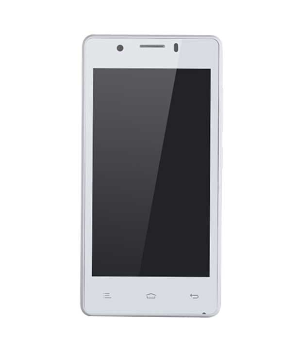 Gionee Pioneer P4 White Mobile