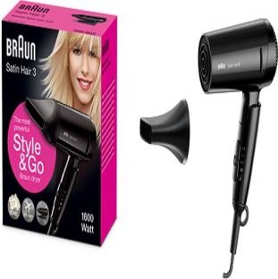 Braun HD350 Satin Hair 3 (1600W) Hair Dryer
