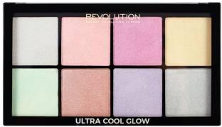 Makeup Revolution Glow Palette Highlighter For Women Cool
