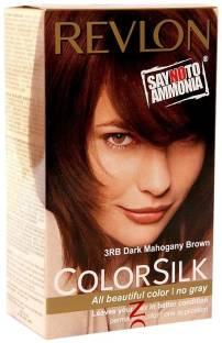 Revlon Revlon Colorsilk Natural Hair Color 3Rb Dark Mahogany Brown