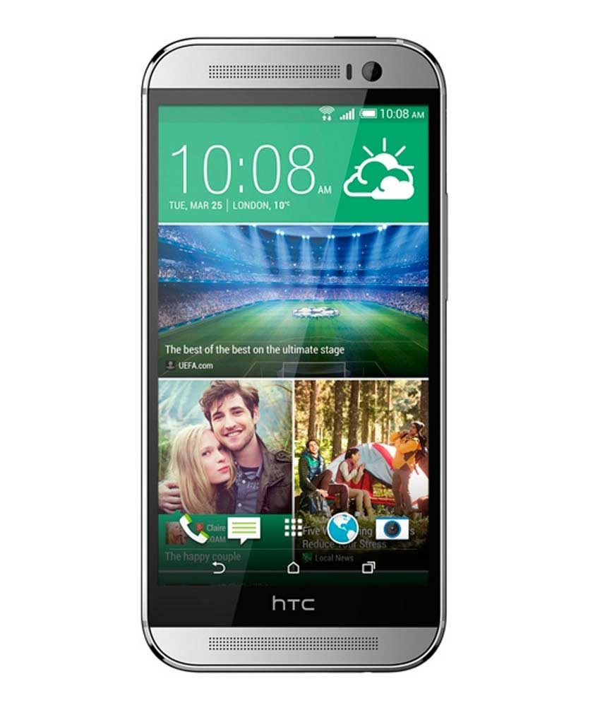 HTC One M8 16GB Silver Mobile