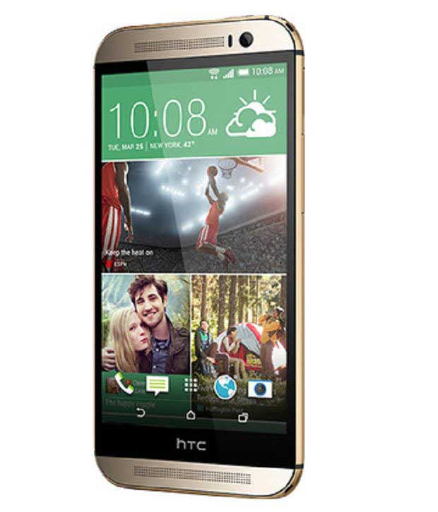 HTC One M8 16GB Gold Mobile