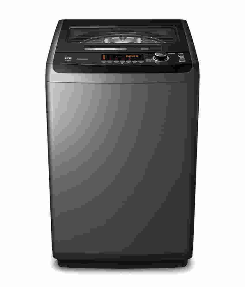 IFB 7Kg Top Load Fully Automatic Top Load Washing Machine SparklingSilver (TL- SDG 7.0 KG Aqua, Sparkling Silver)