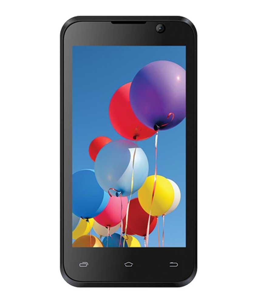 Intex Aqua Y2 Pro Black-Blue Mobile