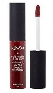 NYX Professional Makeup Soft Matte Lip Cream For Women Madrid, 8 ML