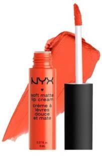 NYX Professional Makeup Soft Matte Lip Cream For Women San Juan, 8 ML