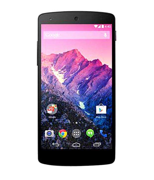 LG Google Nexus 5 16GB Black Mobile