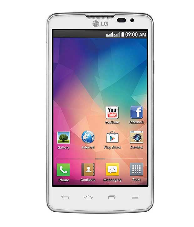LG L60 4 GB White Mobile
