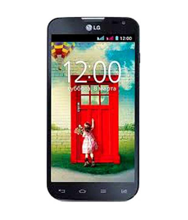 LG L70 4 GB Black Mobile