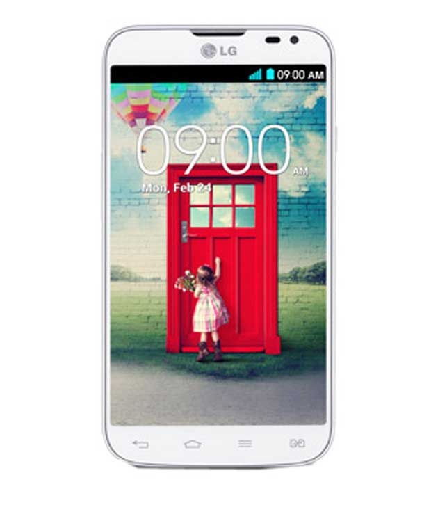LG L70 4 GB White Mobile