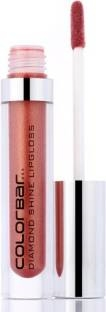 Colorbar Diamond Shine Lipgloss For Women Sunburn 010, 3.8 ML