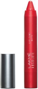 Lakme Absolute Lip Pout Matte Lipstick, Raving Red