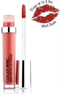 Colorbar Deep Matte Lip Creme For Women Deep Earth 004, 6 ML
