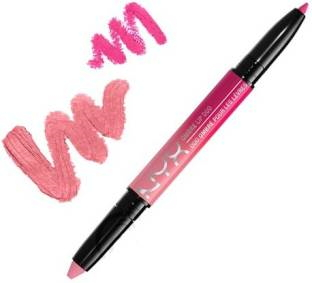 NYX Professional Makeup Ombre Lip Duo Lipstick For Women Pink Bubbles and Caviar 0.59 GM