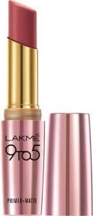 Lakme 9 to 5 Primer Matte Lipstick MP7 Rosy Sunday 3.6 GM
