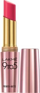 Lakme 9 To 5 Primer Matte Lipstick MP16 Pink Perfect