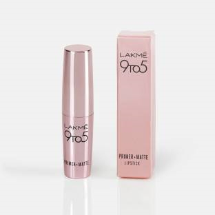 Lakme 9 to 5 Primer Matte Lipstick MP20 Pink Post