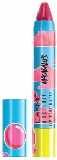 Lakme Absolute Lip Pouts Matte Masaba Lipstick Bubble Pink